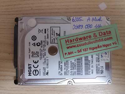 Lấy data ổ cứng Hitachi 1TB
