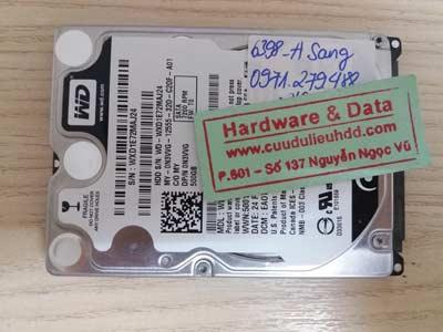 Cứu dữ liệu-WD500GB