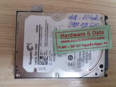 Recover data-seagate-500GB
