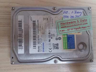 khôi phục dữ liệu samsung 160GB