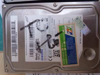 Phục hồi dữ liệu PC samsung 250GB bị chết cơ
