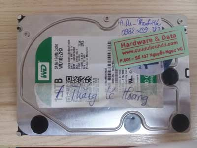 Recover data HDD-WD-1TB
