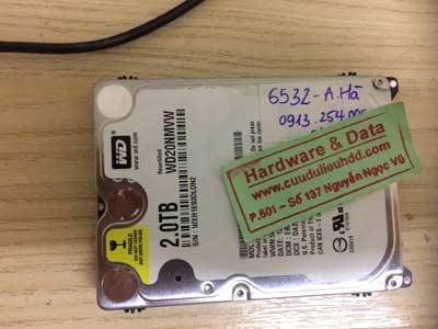 khôi phục data-Western-2TB
