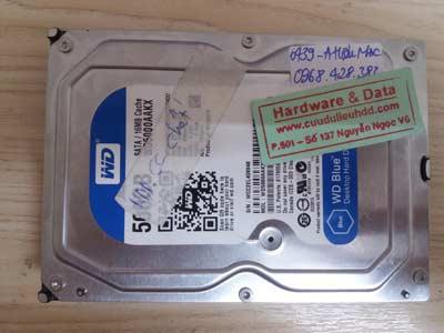 Khôi phục dữ liệu WD-500GB