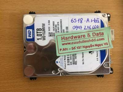 recover dữ liệu-western-1TB