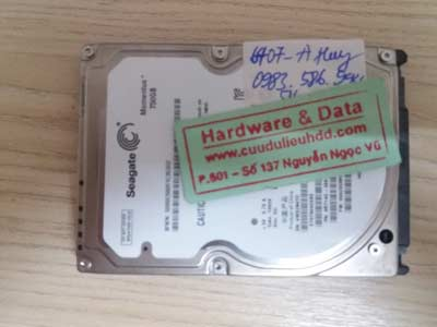 Khôi phục dữ liệu-seagate-750GB