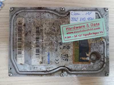 Cứu data HDD Samsung 250GB