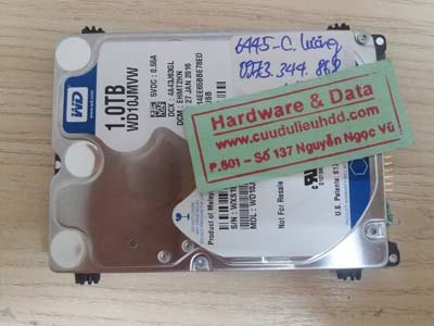 recover data WD-1TB