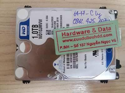 Phục hồi data-Western-1TB