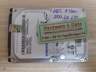 recover dữ liệu ổ cứng Samsung