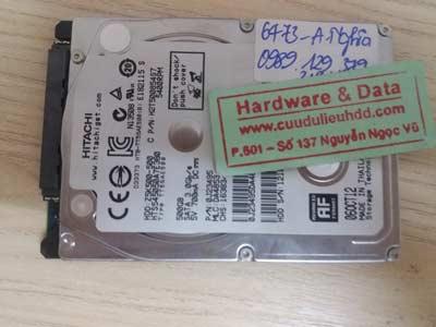 Cứu data HDD-Hiatachi-500GB
