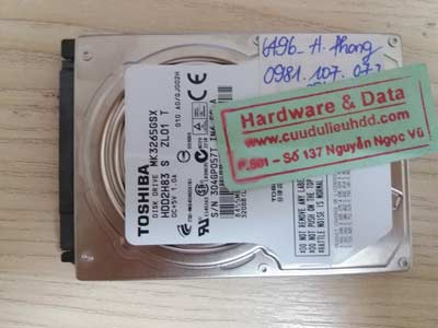 recover data hdd-Toshiba