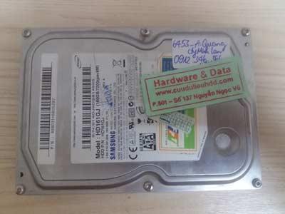 Lấy lại dữ liệu-Samsung 160GB