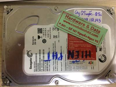 khôi phục dữ liệu-seagate-250GB