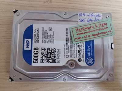Khôi phục dữ liệu-WD-500GB