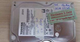 recover dữ liệu Toshiba-500GB