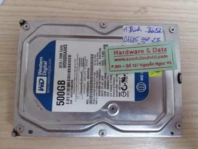 Lấy lại dữ liệu-western-500GB