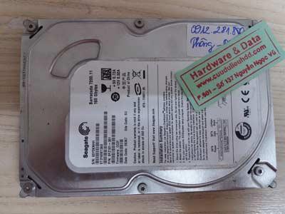 Phục hồi dữ liệu-seagate-160GB