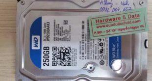 lấy lại data-Western-250GB