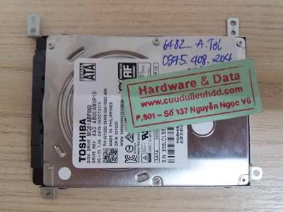 khôi phục dữ liệu-Toshiba