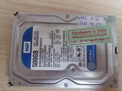 Khôi phục dữ liệu-WD 500GB