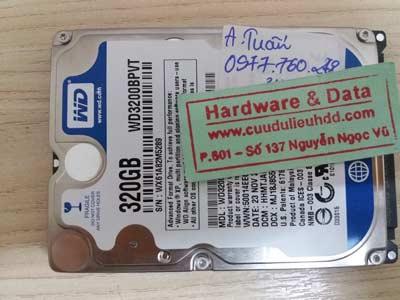 Cứu dữ liệu-WD 320GB