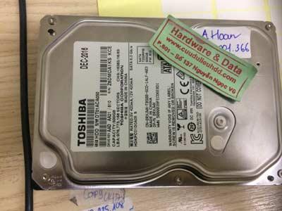 Cứu dữ liệu-Toshiba 500GB