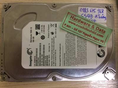 Lấy lại data-seagate-160GB