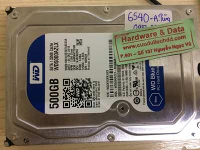 Khôi phục dữ liệu-Western-500GB