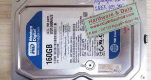 16-9-2017 ổ cứng Western 160GB bị chết cơ
