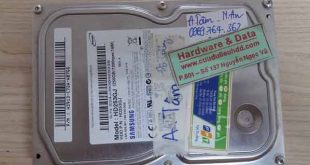 25-09-2017 HDD Samsung 250GB bị lỗi cơ