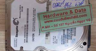 26-09-2017 ổ cứng Seagate 320GB bị chết cơ