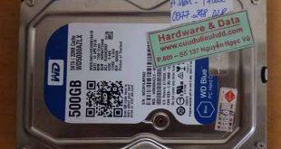 27-09-2017-HDD Western 500BG bị chết cơ