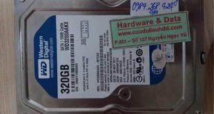 6779 ổ HDD Western 320GB bị hỏng đầu từ