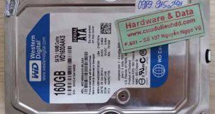 6806 ổ cứng Western 160GB bị hỏng đầu từ