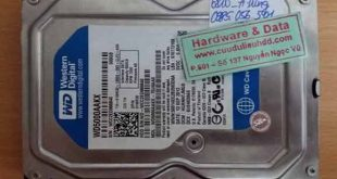 6810 ổ cứng desktop Western 500GB bị lỗi đầu từ