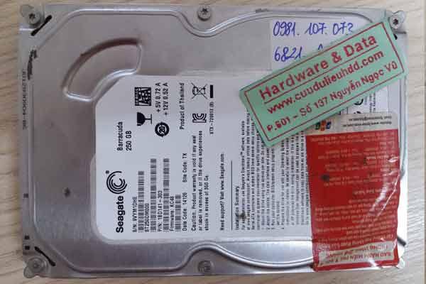 6821 ổ cứng Seagate 250GB đĩa kém