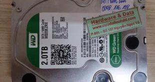 ổ cứng Western 2TB bị hỏng cơ