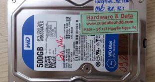 Ổ cứng Western 500GB bị lỗi cơ