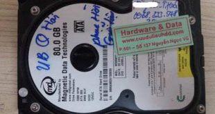 28-10-Western-80GB ổ cứng Magnetic bị chết cơ