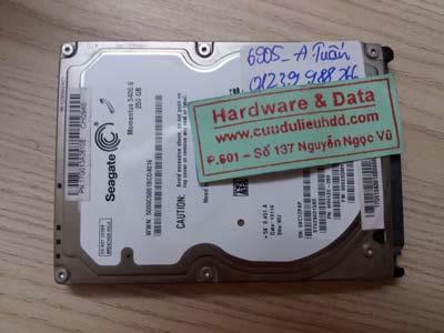 5905 ổ cứng Seagate 250GB bị gộp ổ