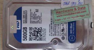 6862 ổ cứng Westen 500GB bị chết cơ