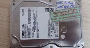 6898 ổ cứng Toshiba 500GB hỏng đầu từ
