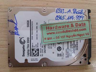 6913 ổ cứng laptop Seagate format nhầm ổ E