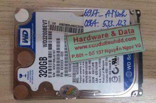 6917 ổ cứng Western 320GB bị chết cơ