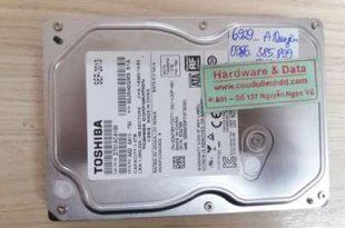 6929 ổ Toshiba 1TB bị chết cơ