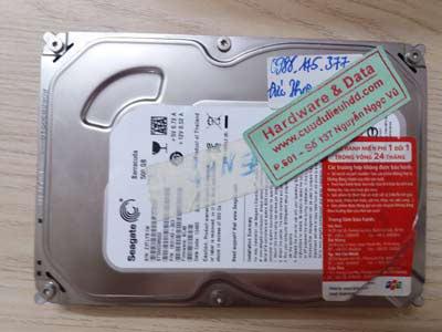 ổ cứng Seagate 500GB hỏng đầu từ