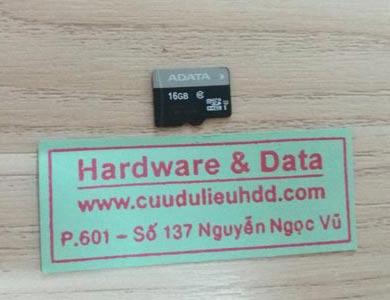 10.11thẻ nhớ 160GB bị mất dữ liệu