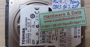 7024 ổ cứng Toshiba 160GB bị chết cơ