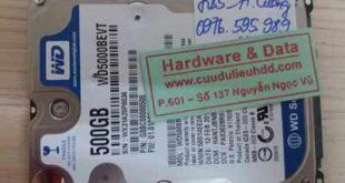 7035 ổ cứng Western 500GB bị tháo cơ